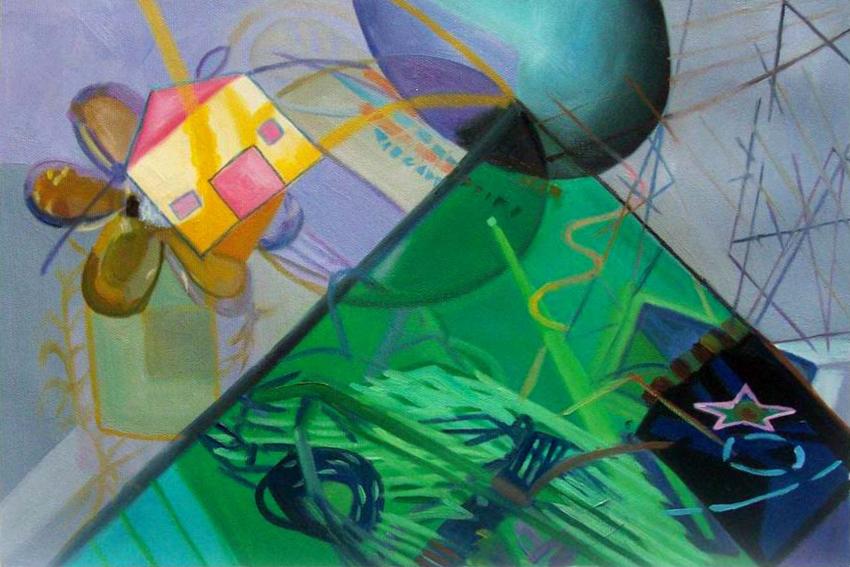 """Untitled"", 2009 - oil on canvas 20×30 cm. / 40×60 cm. / 60×90 cm."