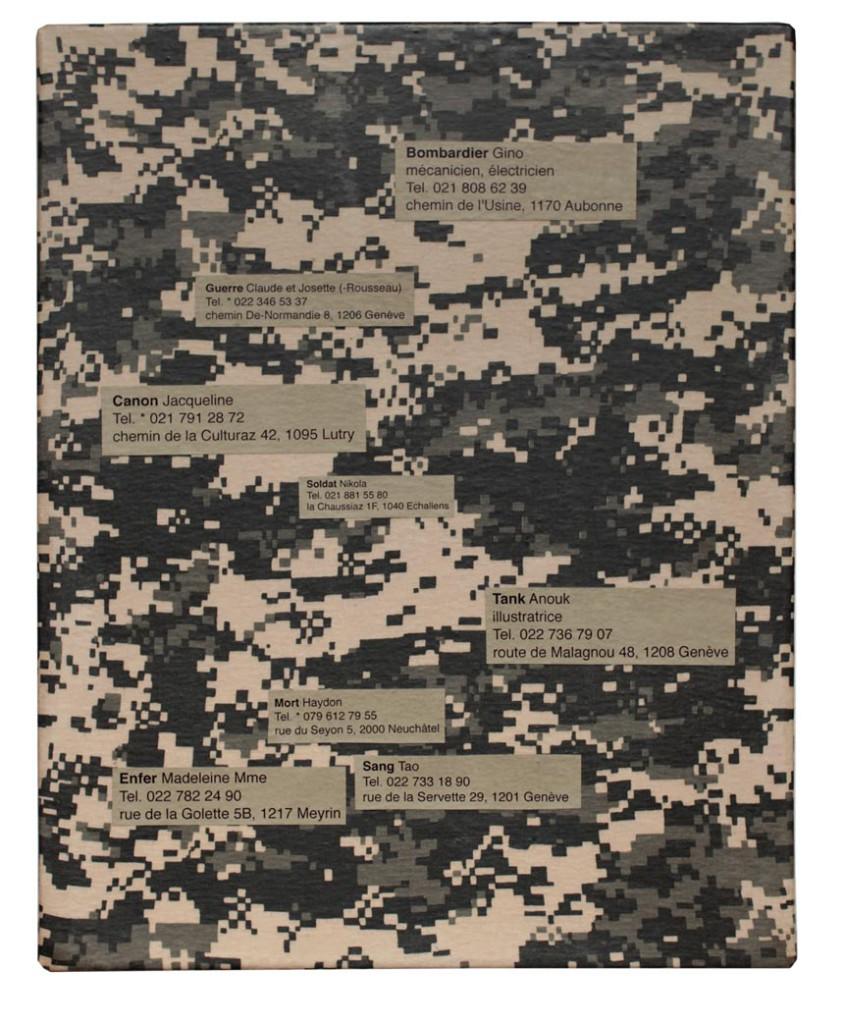 Guerre I, matériaux divers, collage -  41x33 cm.