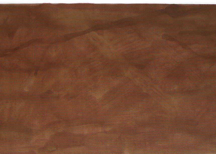Rendu peinture brune (détail), 1991 – impression à jet d'encre, eau / inkjet print, water – 21 x 275 cm.